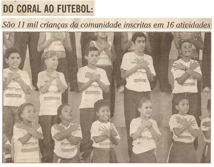 O Globo Abril de 2001